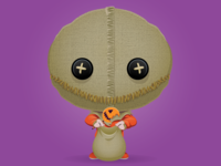 Trick or Treat Day 25 - Sam from TRICK R TREAT!