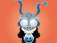Trick or Treat Day 30 - Frank the Rabbit from Donnie Darko