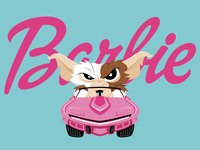 Gizmo and the Barbie Corvette®
