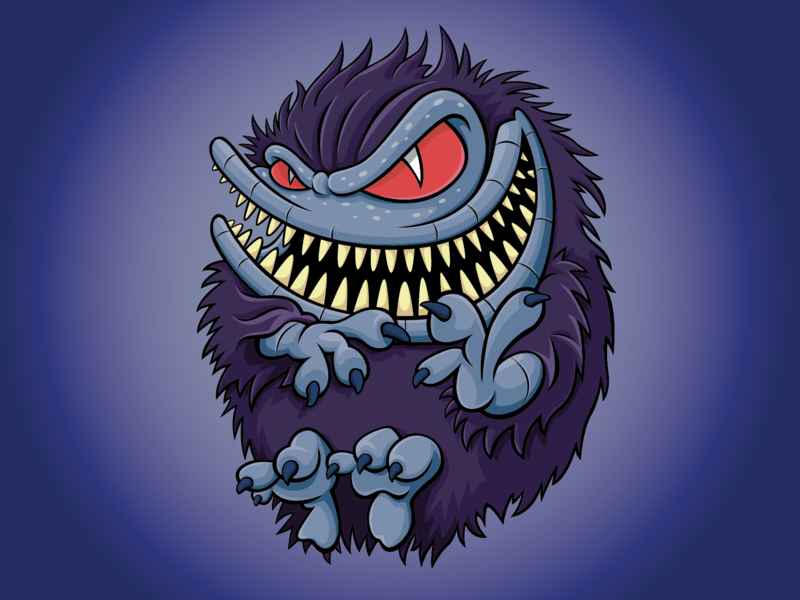 CRITTERS : The New Batch vector illustration commercialillustration vector-art digital illustration vectorillustration character design horrormovies horror trick or treat digital art not so scary halloween popculture cutehorror childrens book cute illustration vector art cute art scifi critters