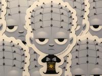 Lil Hellraiser sticker design