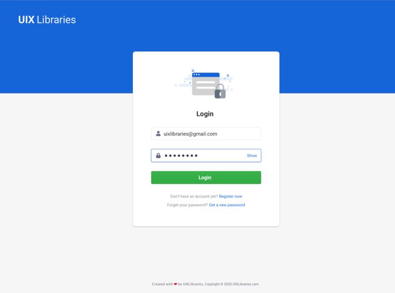 Login Sign In Page Design