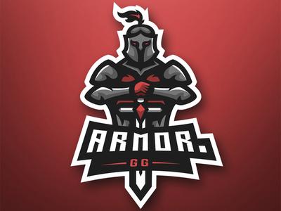 """""""Armor GG"""" eSports Logo eagle mascot logo mascotlogo mascot design mascot esports esportlogo design"""