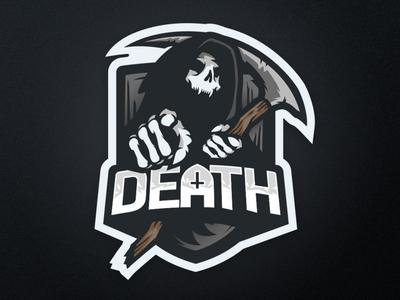 """Death"" eSports Logo illustration logo esport mascot logo mascotlogo mascot design mascot esports esportlogo design"