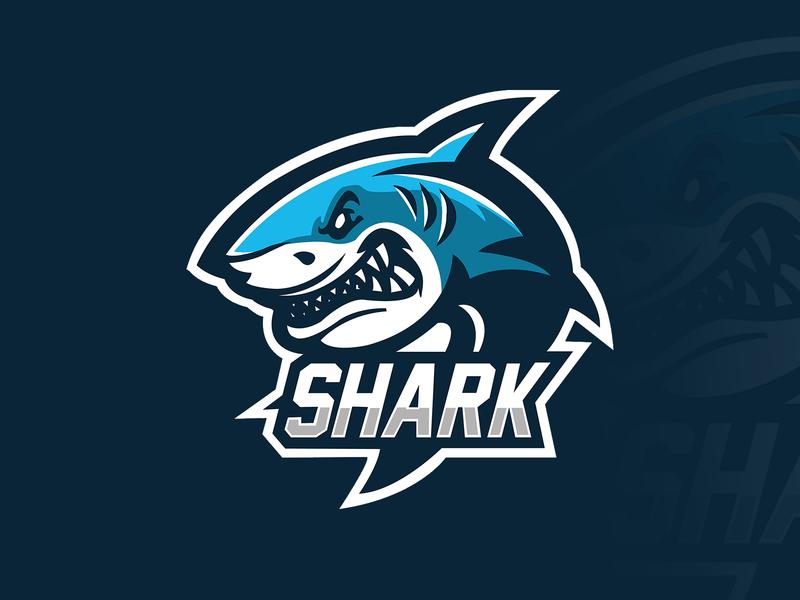 """Shark"" eSports Logo illustration shark logo esport mascot logo mascotlogo mascot design mascot esports esportlogo design"