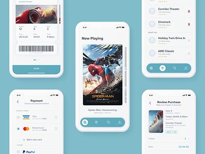Moovie App user interaction ios app ios ticket purchase movie app movie tickets user interface experience user interface app design ux ui