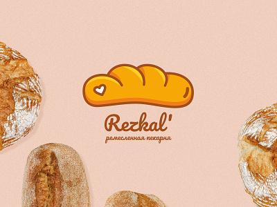 Bakery logo bread loaf bakery illustration cartoon logo branding logo