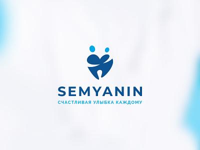 Family dentist logo health stomatologist medicine tooth family dentist graphic design branding logo