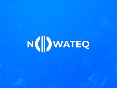 Nowateq logo installation equipment technology graphic design branding logo