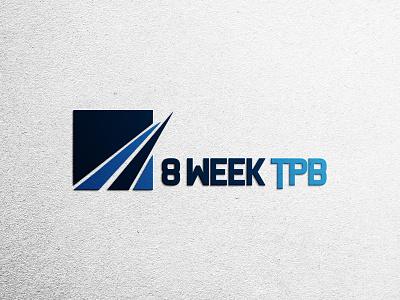 8 Week TPB Logo Design logotype logodesign illustration icon flat logo graphicdesign design branding brand identity