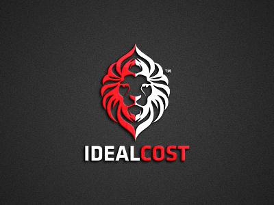 Ideal Cost logo Design logotype logodesign illustration icon flat logo graphicdesign design branding brand identity
