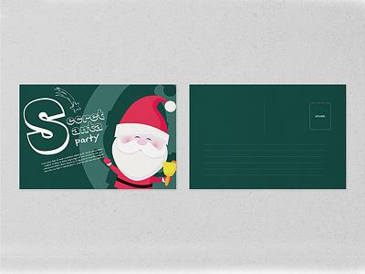 Post Card Design design vector typography logotype christmas card christmas illustration logo brand identity branding poster design graphic design post card