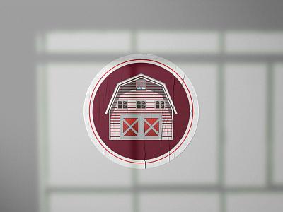 Sticker Design For Estate Agency flat logotype branding logo design graphicdesign illustration brand identity ecommerce house hold sticker design logo design estate agency