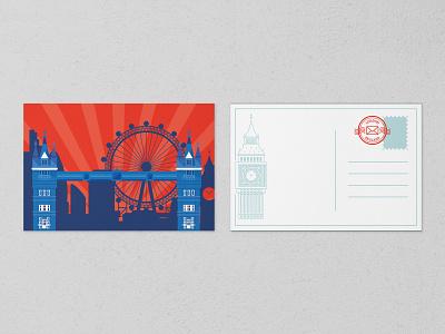 City Escape Post Card Design logodesign flat logotype graphicdesign design branding logo brand identity illustration poster city escape photoshop post card
