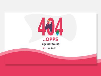 DailyUI 008 - 404 page ui logo illustration web ui  ux uiux ios design app android