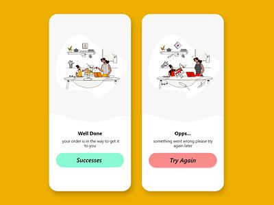 DailyUI 011 - Flash message ui logo app illustration web ui  ux uiux ios design android