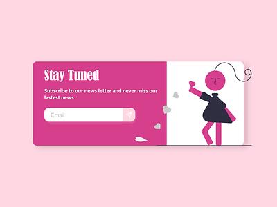 DailyUI #026 - Subscribe illustration web ios app ui  ux uiux design android branding logo motion graphics graphic design 3d animation ui