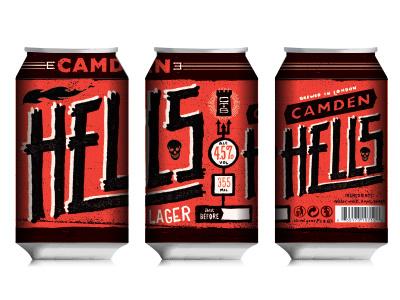 Hells beer custom type good times