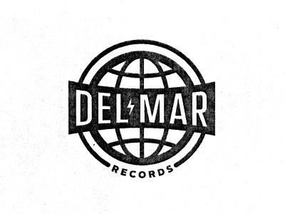 Del Mar Records logo icons good times