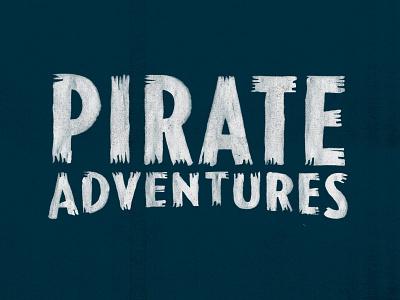 YAR! lettering pirates custom type