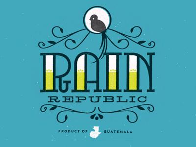 Rain Republic chocolate packaging guatemala