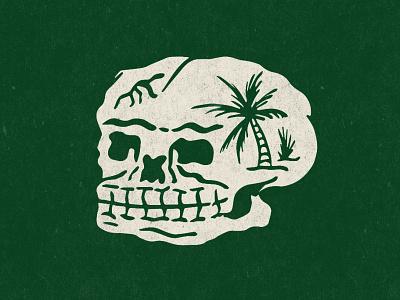 Rumble in the Jungle illustration skull
