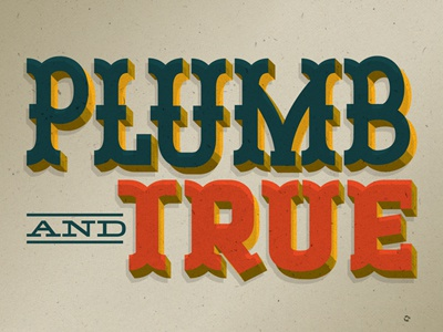 Plumb and True good times