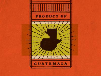 Product of Guatemala packaging chocolate guatemala