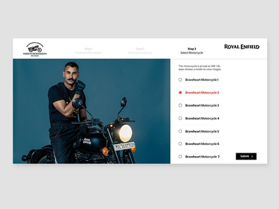 Royal Enfield Motorcycle Sale Page