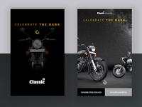 Motorcycle Landing Page