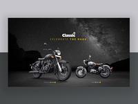Matte Black Motorcycle Launch