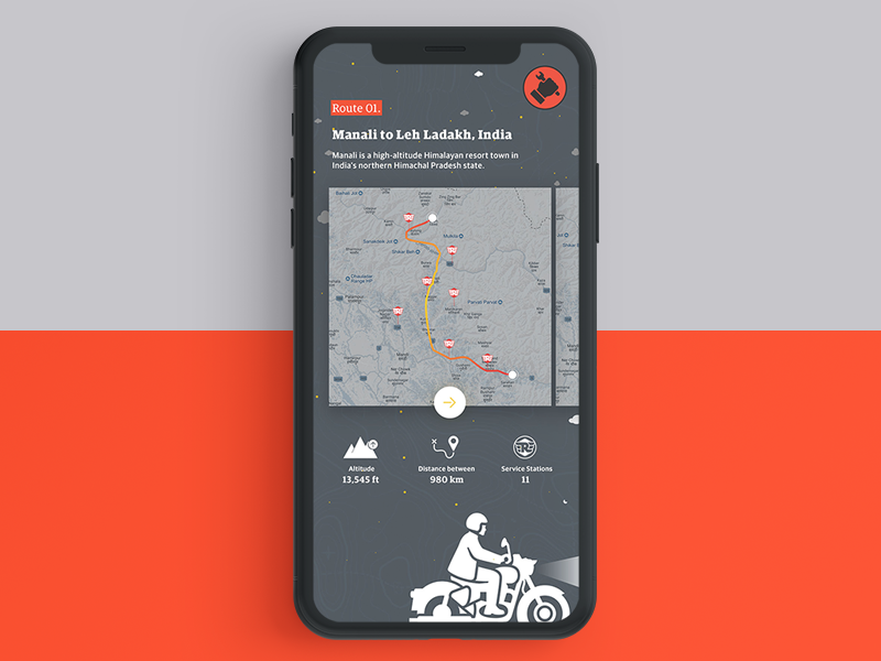 Service Network Map - Royal Enfield terrain india repairs ride rider sky service royalenfield motorcycle minimal ux ui
