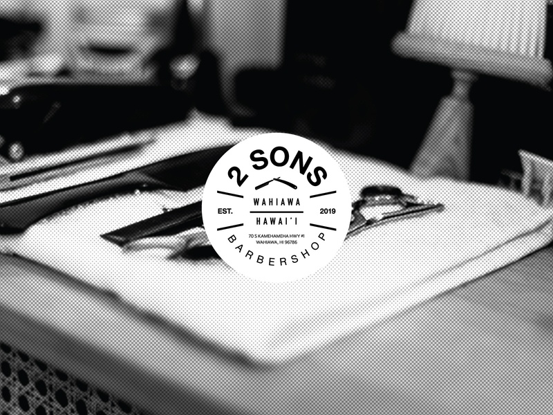 2 Sons Barbershop | Logo Exploration identitydesign logodesign branding icondesign icon type typography graphicdesign illustration vector