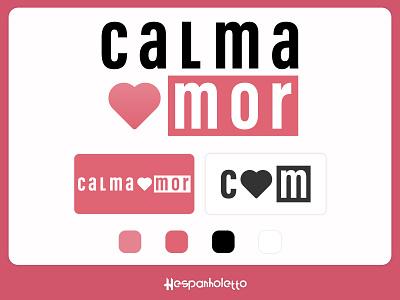 Calma Mor - Branding sao paulo brasil fashion brand fashion moda minimal icon logo design vector flat design illustrator logo branding