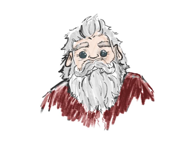 'Tis the Season santa sketch christmas photoshop