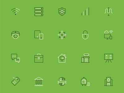 Meraki Menu Icons website technology web vector ui icons illustration design