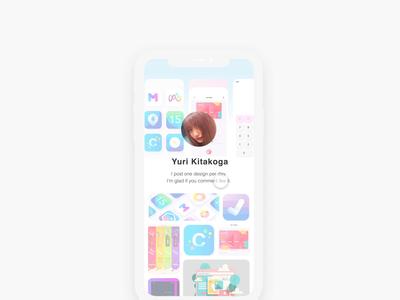daily UI 06 profile