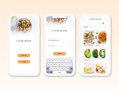 dailyui 040 recipe food cook web design app recipes recipe dailyui040 graphic designs creditcard web ux ui illustrator icon dailyui illustration design