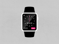 Dribbble Stop Watch