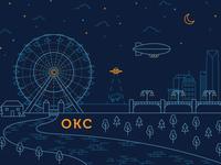 OKC Ferris Wheel