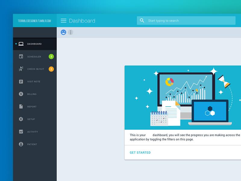 Dashboard Web App Ui Design Update Better Reso By