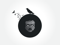 Daily Icon no. 5 –– Happy Birthday Edgar Allan Poe