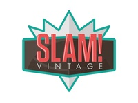 SLAM! Vintage Logo vintage 90s basketball clothing jerseys nba logo retro throwback sports