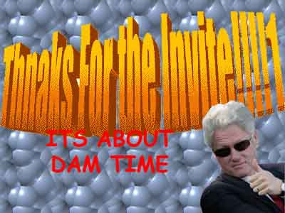 THNAKS missed shot 0 for 1 bill clinton yikes questionable invite wordart un-like terrible embarrassing purple really