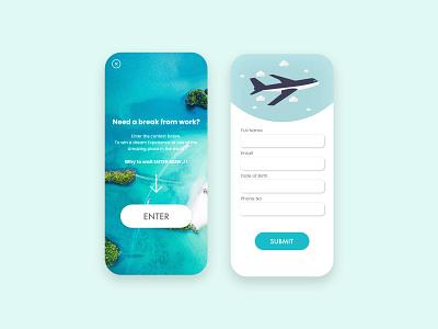Daily UI Challenge - 001 app design dailyui ux ui