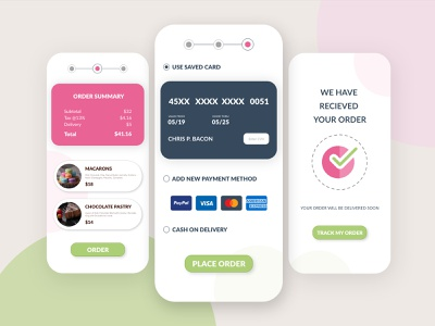 UI CHALLENGE - 002 app minimal ux design checkout page uiuxdesign ui dailyui