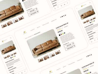 Daily UI  - 012 appdesign design furniture website websitedesign dailyui uidesign uiuxdesign