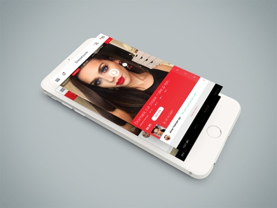 Beauty app homepage demo 1 app uiux makeup care beauty