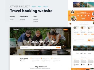Tubudd Redesign Concept uxdesign web uiux design