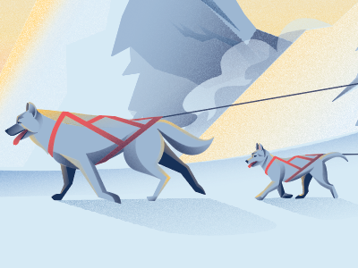 Husky illustration 2